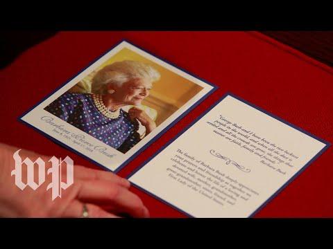 Watch Barbara Bush's funeral service