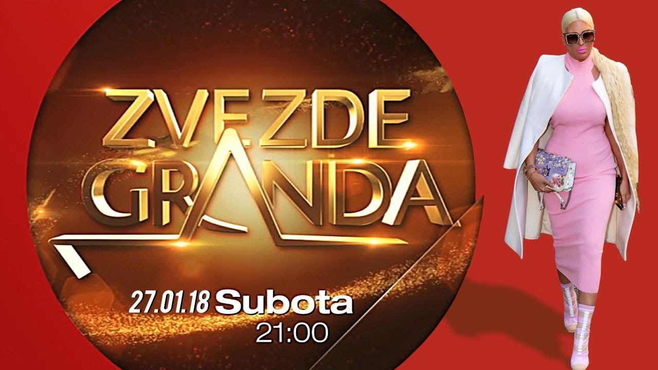 NOVE ZVEZDE GRANDA 2018: Sedamnaesta emisija – 27. 01. – najava