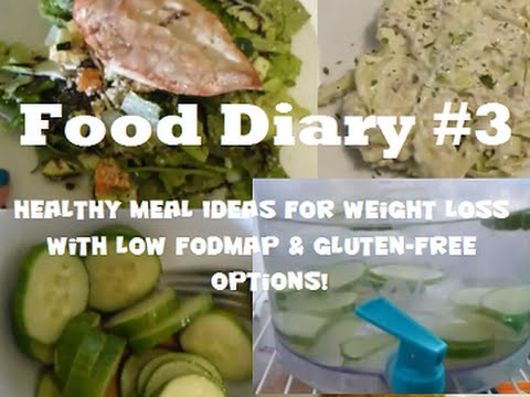 Food Diary #3 – Healthy, Gluten-Free Meals for Weight Loss!