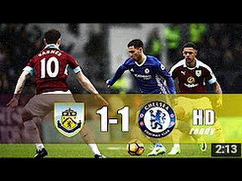 Burnley vs Chelsea 1-1 All Goals & Extended Highlights 11/02/2017 HD