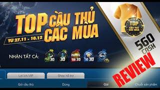 [Fifa Online 3] Review Gói Top cầu thủ các mùa - 560 cash - Phần 3, fifa online 3, fo3, video fifa online 3