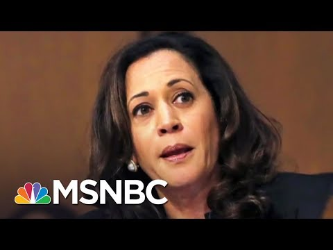 Sen. Kamala Harris Reacts To Scolding By GOP Senators | The 11th Hour | MSNBC