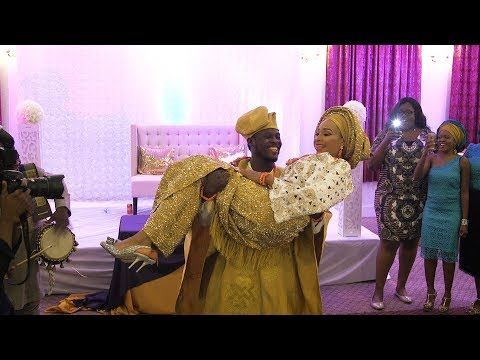 Simi - Smile For Me - Official Video Phebe & Bamise | Best yoruba traditional wedding video  2017.