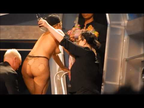 NAKED GAGA Lady Gaga's ARTRAVE Ft. Lauderdale, FL 05/04