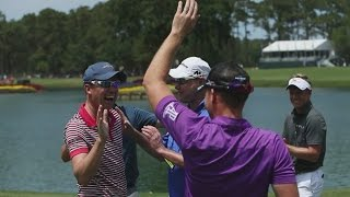 Caddies participate in annual competition at THE PLAYERS by PGA TOUR