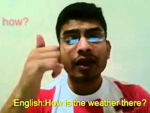 Learn Malayalam How is the weather there