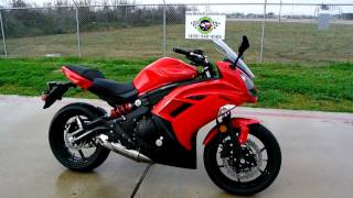 7. Mainland's Overview and Review: 2012 Kawasaki Ninja 650R Passion Red
