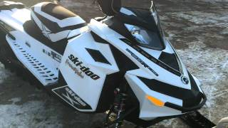 10. 2012 Skidoo Freeride 146 customized by Pines Power Sports Marine