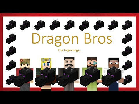 Dragon Bros (Hermitcraft Season 6 Grian, Iskall, Mumbo, False, bdubs)