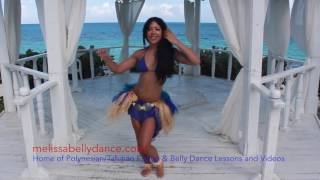 POLYNESIAN TAHITIAN DANCE TUTORIAL THE VARU The Polynesian Figure of 8