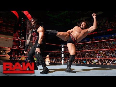 Roman Reigns vs. Rusev: Raw, 15. August 2016