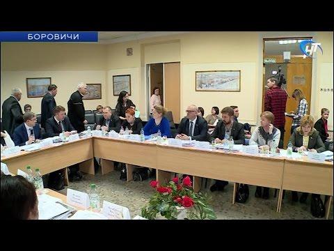 В Боровичах прошло заседание конкурсной комиссии для отбора кандидатов на должность главы района