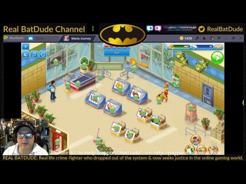 LIVE STREAM - Real BatDude Channel - Let's Play: Mobile App: SUPERMARKET MANIA - Journey PART 1/2