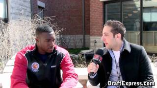Patric Young Interview & Practice Highlights - 2010 McDonald's All American Game