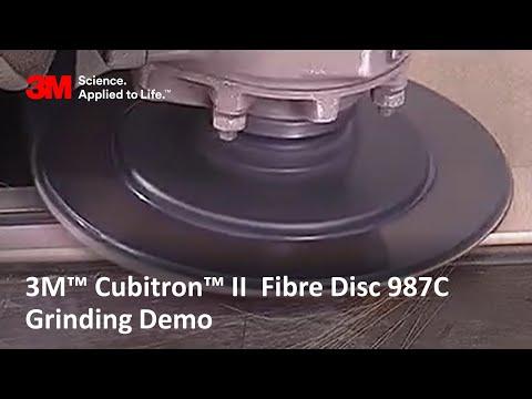 3M™ Cubitron™ II 987C Fibre Discs