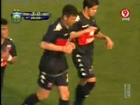 Gol de Diego Morales a Quilmes