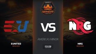 eUnited vs NRG, map 1 nuke, Americas Minor – FACEIT Major 2018