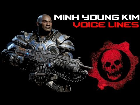 Gears of War 4 - Minh Quotes & RARE Voice Lines
