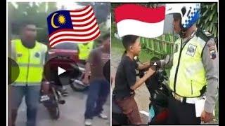 Video Beda polis Indonesia dan Malaysia tahan budak naiki motor MP3, 3GP, MP4, WEBM, AVI, FLV Agustus 2018