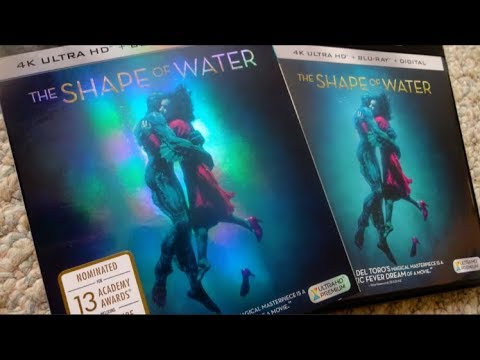 THE SHAPE OF WATER (2017) 4K UHD Blu Ray Unboxing