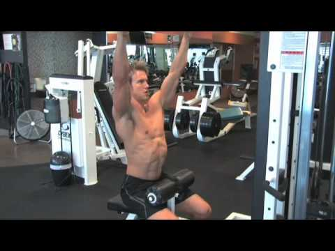 Personal Training Workout Tips with Rob Riches. Part 1: Lat Pulldown