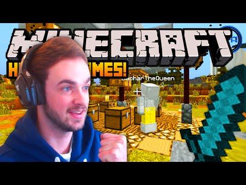 "Minecraft HUNGER GAMES – ""BIG FIGHT!"" – w/ Ali-A #46!"