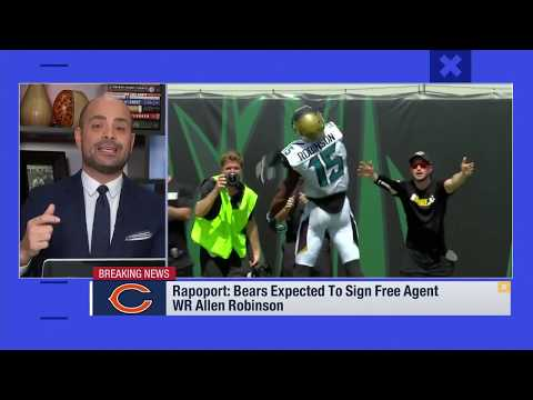 Bears were looking to surround Mitchell Trubisky with a big target signing Allen Robinson | Mar 13
