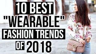 Video 10 Best WEARABLE Fashion Trends of 2018! MP3, 3GP, MP4, WEBM, AVI, FLV September 2018
