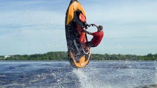 4. Jet Ski - Wheelies and jumps