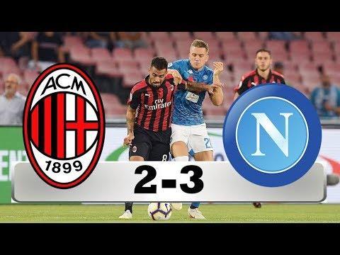 AC MILAN VS NAPOLI 2-3 All GOALS & HIGHLIGHT HD 🔥🔥🔥