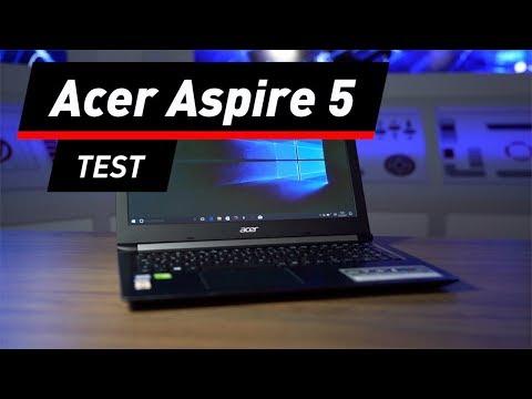 Acer Aspire 5: Kein Hingucker, aber gute Verarbeitu ...