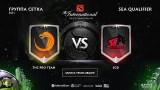 TNC Pro Team vs SGD, The International SEA QL [4ce, Lex]