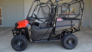 6. 2015 Honda Pioneer 700 4 Seater Side by Side / SxS / UTV / ATV : Chattanooga TN PowerSports Dealer