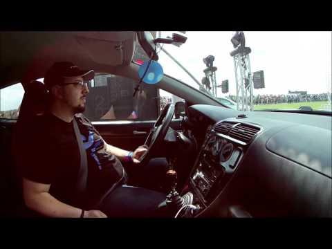 Honda ep3 vs VW Siroco R @ German Race wars 2017
