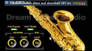 DVS Saxophone   Free VST   myVST Demo