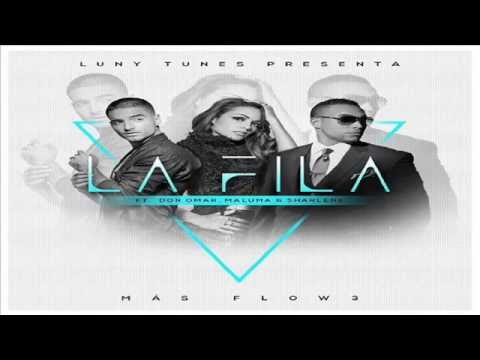Letra La Fila Don Omar Ft Sharlene Y Maluma