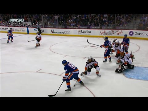 Video: Tavares finishes Islanders' set play from Bailey