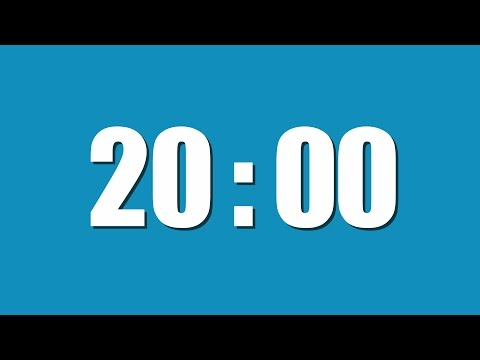 Video 20 Minute Timer download in MP3, 3GP, MP4, WEBM, AVI, FLV January 2017