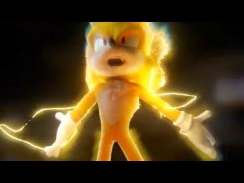 Sonic the Hedgehog Movie - Super Sonic Scene (Made by João Filipe Santiago)