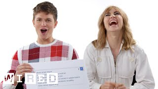 Video Ansel Elgort & Suki Waterhouse Answer the Web's Most Searched Questions | WIRED MP3, 3GP, MP4, WEBM, AVI, FLV Juli 2018