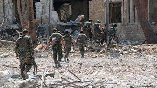 El Frente Al Nusra bombardea al Ejército sirio en Alepo