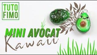 Polymer Clay Tutorial - Mini Kawaii Avocado/Mini Avocat Kawaii
