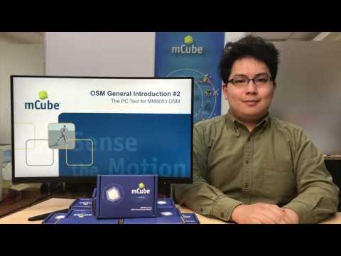 mCube OSM, MM8003, PC Toolbox