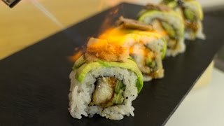 Expensive sushi roll