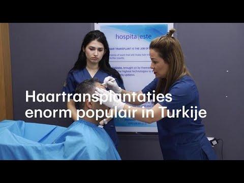 Haartransplantaties booming business voor Turkije - RTL NIEUWS