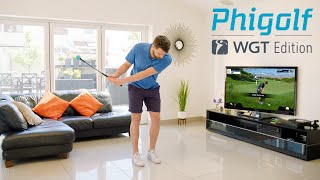 video thumbnail Phigolf Mobile and Home Smart Golf Game Simulator  WGT Edition youtube