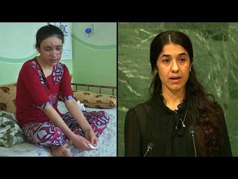 Δύο γυναίκες που επιβίωσαν από τις φρικαλεότητες του Ισλαμικού Κράτους νικήτριες του Βραβείου…
