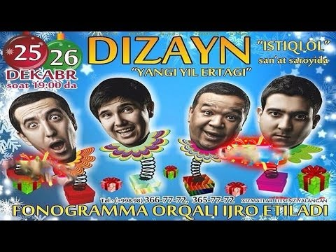 Video Dizayn jamoasi - Yangi yil ertagi konsert dasturi 2013 download in MP3, 3GP, MP4, WEBM, AVI, FLV January 2017