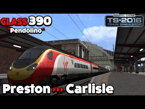 Train Simulator 2016 Let's Play - Class 390