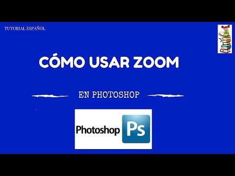 TUTORIAL - COMO USAR  ZOOM EN PHOTOSHOP CC - ESPAÑOL 2017